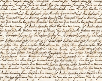 1/2 yd City of Lights French Script by Robert Kaufman Fabrics AFD16735265