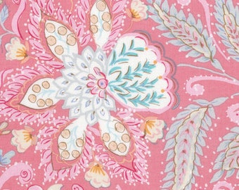 1/2 yd Isabelle Ornate Fabric by Dena Designs for Free Spirit PWDF247.PINKX Pink