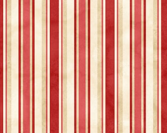 1/2 yd From the Farm Awning Stripe by Kris Lammers for Maywood Studio MAS8286-R