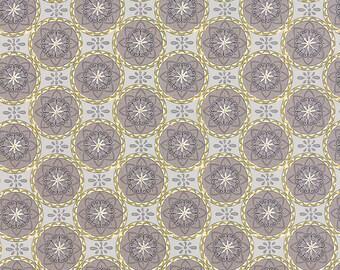 1/2 yd Bee Creative Medallions by Deb Strain for Moda Fabrics 19755 14 Dove Grey