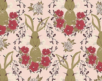 1/2 yd Forest Floor In the Thicket Dawn by Bonnie Christine for Art Gallery Fabrics FOR-37702