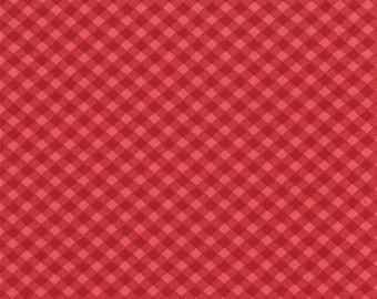 Wishes Bias Check Fabric // Moda 5537 14 by the Half Yard