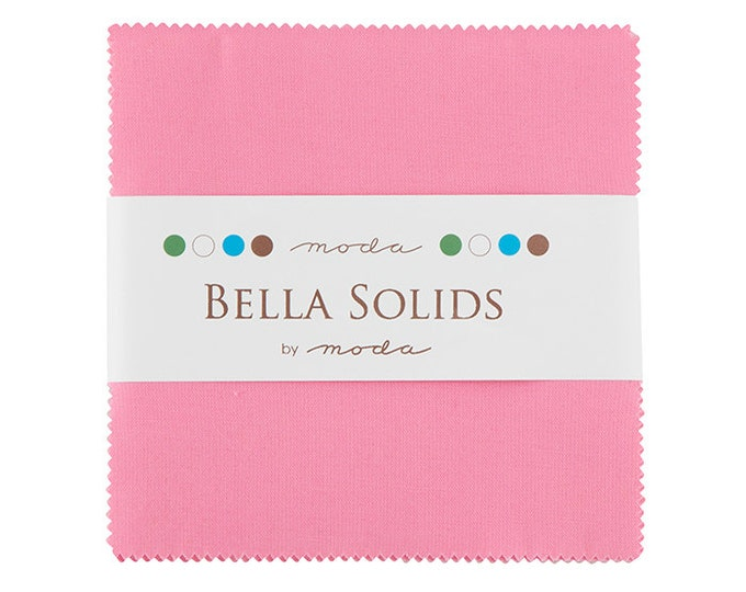 Bella Solids Charm Pack 9900PP 27 Pink