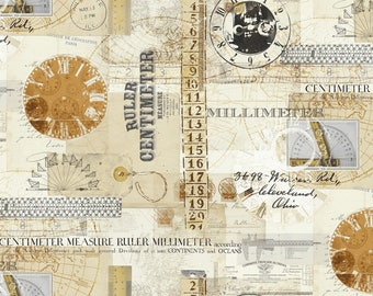 1/2 yd Measure Multi by Whistler Studios for Windham 43120-X