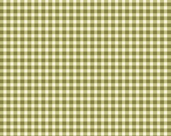 1/2 yd Welcome Home Gingham Check Fabric by Jennifer Bosworth for Maywood Studio Fabrics MAS610-G6