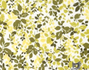 1/2 yd Regent St Lawn Classic Floral Leaf Tendril Green 2016 by Moda Fabrics 33196 12