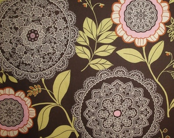 1/2 Yd Lotus Lacework by Amy Butler for FreeSpirit Fabrics AB19.OLIVE