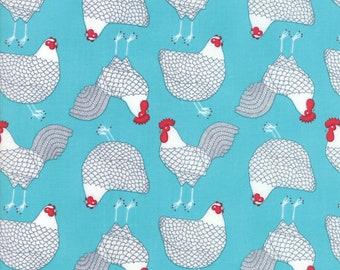 1/2 yd Farm Fresh Novelty Children Cluck by Gingiber for Moda Fabrics 48262 20