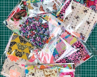 Scrap Bag // Remnants // Grab Bag // Bees // Butterflies // Florals