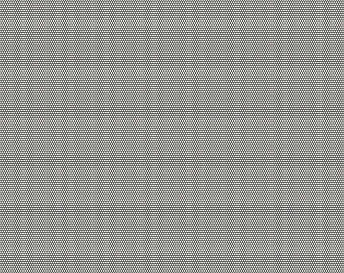 1/2 yd Linen & Lawn Gray Dot by Sue Daley for Penny Rose and Riley Blake Designs Fabric LW6346-GRAY