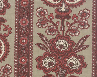 1/2 yd Le Marais Roche Floral Lazare by French General for Moda Fabric 13731 14