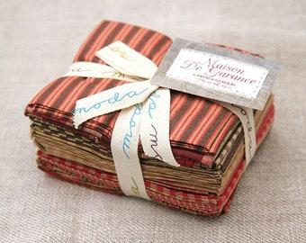 Maison De Garance Wovens Fat Quarter Bundle by French General for Moda Fabrics 5480AB