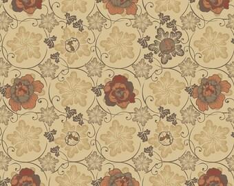 1/2 yd Stella Floral by David Textiles Fabrics DATRR-3028-4C-1