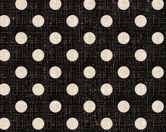 1/2 yd French Couture Textured Dots by David Textiles Fabric 3397-3C-1