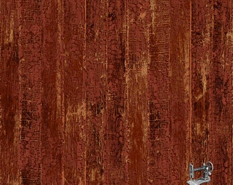 1/2 yd Naturescapes Wood Fencing Shiplap Boards Fabric by Northcott 21650 24