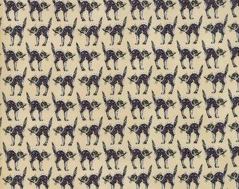 Bewitching Creepy Cats Fabric // Deb Strain // Moda by the Half Yard