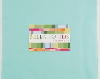 Moda Bella Solids Junior Layer Cake® 9900JLC 85 Robin's Egg