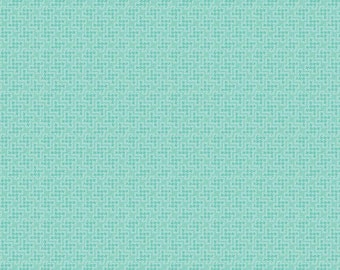 1/2 yd The Shabby Strawberry Houndstooth by Emily Hayes for Penny Rose & Riley Blake C6045 Teal