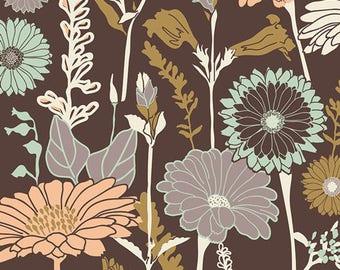 1/2 yd Cultivate Flower Field Soil by Bonnie Christine for Art Gallery Fabrics CUL-9670
