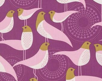 1/2 Yd Modernist Perch Plum by Joel Dewberry for FreeSpirit Fabrics PWJD135.PLUMX