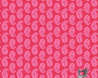 1/2 yd Joyful Paisley Fabric by Quilted Koala for Andover A-7637-RE1