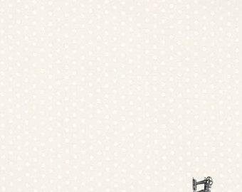 1/2 yd Spot On Pearl Fabric by Robert Kaufman EZCP-12873-88 ICE