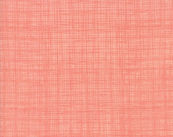 1/2 yd Bayberry Linen Texture Blossom by Kate & Birdie Paper Co. for Moda Fabrics 13108 58