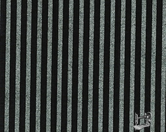 1/2 yd Gold Standard Simply Sterling Silver Shirting Stripe by Kanvas Studio for Benartex Fabrics 4928M-12