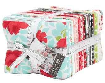 Little Snippets Fat Quarter Bundle by Bonnie & Camille for Moda Fabrics 55180AB