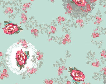 1/2 yd Recollection Remembrose Doilies by Katarina Rochella for Art Gallery Fabrics RCL 706