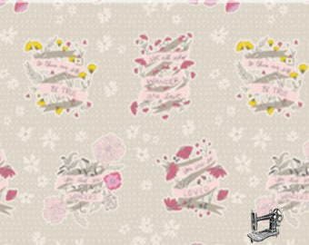 1/2 yd Wonderful Things Words To Live By by Bonnie Christine for Art Gallery Fabrics WOT-31408