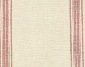 1/2 yd Moda Toweling French General Maison De Garance Red 920 141