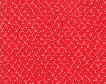 1/2 yd Farm Fresh Novelty Children Scalloped Feathers by Gingiber for Moda Fabrics 48266 15
