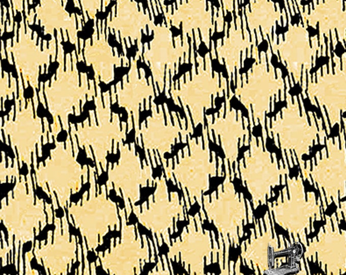 1/2 yd Queen of We'en Sketchy Plaid Fabric by Janet Wecker Frisch for Quilting Treasures Fabrics 25968 -S