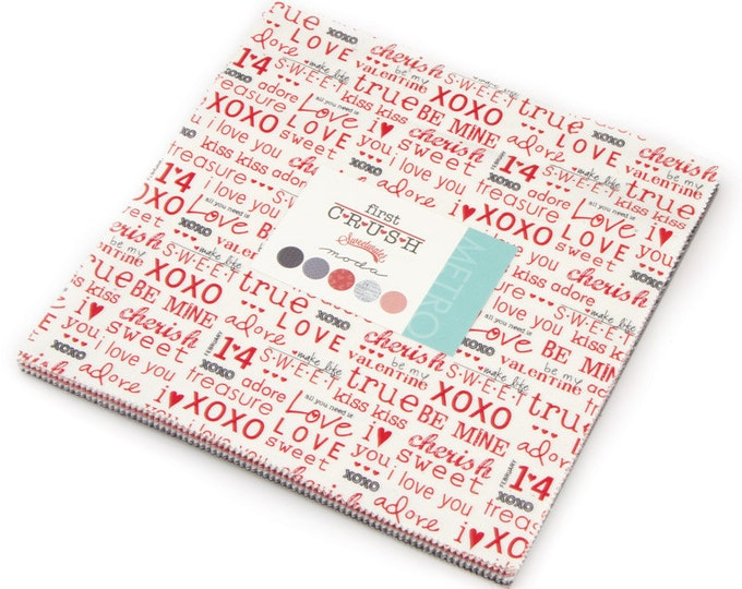 FREE SHIPPING First Crush Layer Cake® by Sweetwater for Moda Fabrics 5600LC