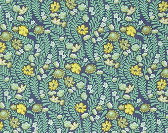 1/2 yd Eden Wildflower by Tula Pink for FreeSpirit Fabrics PWTP073.SAPPH