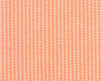 1/2 yd Tucker Prairie Poppy Bubble Dots by One Canoe Two for Moda Fabrics 36005 17