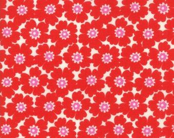 1/2 yd Lazy Days Cosmos by Gina Martin for Moda Fabrics 10072 16