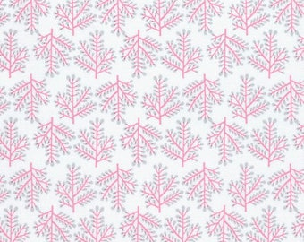 1/2 yd Isabelle Forest by Dena Designs for Free Spirit Fabrics PWDF249.PINKX