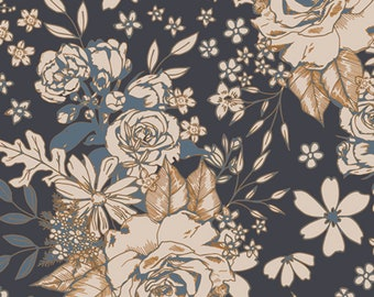 AGF Floral Universe Trinkets Fusion Floral Fabric // Art Gallery FUS-T-1409 by the HALF Yard