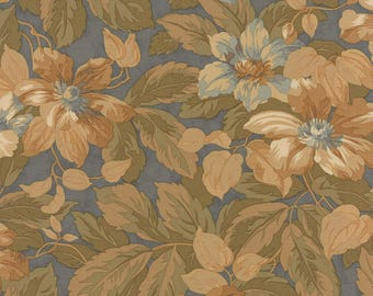 1/2 yd Garden House Reproduction Floral by Jan Patek for Moda Fabrics 2170 16