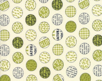 1/2 yd Authentic Etc Spot On by Sweetwater for Moda Fabric 5674 11