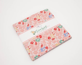Sorbet Stacker/Layer Cake by Leonie Bateman for Penny Rose/Riley Blake Designs 10-6710-42