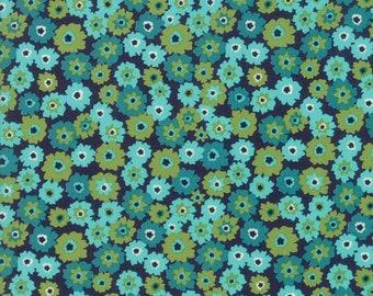 1/2 yd Rosa Tarts Navy Bermuda by Crystal Manning for Moda Fabrics 11823 18