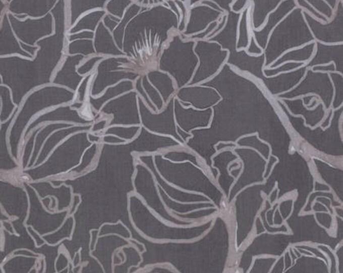 "END of BOLT 35"" Soft Repose Steel Magnolia by Shell Rummel for Free Spirit Fabrics PWSR002.8CLOV"
