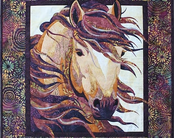 Summer Breeze Horse Quilt/Wallhanging Pattern by Toni Whitney SB028