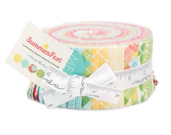 Summerfest Jelly Roll® by April Rosenthal for Moda Fabrics  24030JR