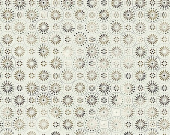1/2 yd Bohemian Manor II Daisy Circle by Jason Yenter for In The Beginning Fabrics 7JYF 3