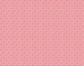1/2 yd The Shabby Strawberry Houndstooth by Emily Hayes for Penny Rose & Riley Blake C6045 Pink