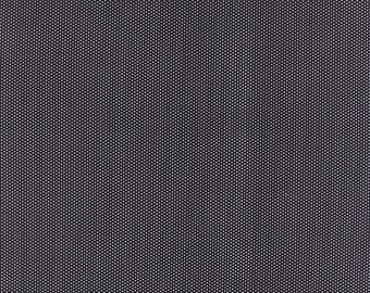 1/2 yd Volume II Mini Snaps Pin Dot by Sweetwater for Moda Fabric 5615 14 Black